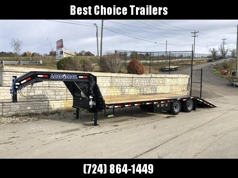 2020 Load Trail 102x32' Gooseneck Deckover Hydraulic Dovetail Trailer 25990# * GL0232122 * EOH DISC BRAKES * HYDRAULIC JACKS * 12000# AXLES * DEXTER HDSS SUSPENSION * BLACKWOOD * 2-3-2 * ZINC PRIMER * CLEARANCE