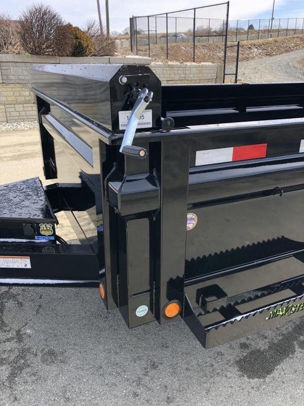 "2019 Load Trail 7x14' Dump Trailer 14000# GVW * DT8314072 * 8"" I-BEAM FRAME * 12K JACK * 3-WAY GATE * TARP KIT * SCISSOR HOIST * 10GA 2PC SIDES & FLOOR * 6"" TUBE BED FRAME * CLEARANCE"