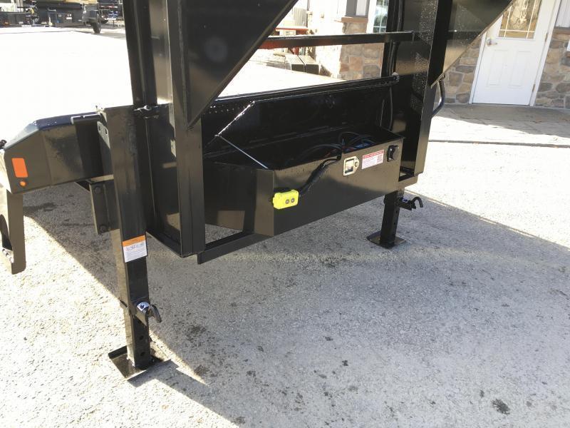 2019 Sure-Trac 102x22' Gooseneck Power Tilt Deckover 15000# GVW * WINCH PLATE * OAK DECK * CLEARANCE