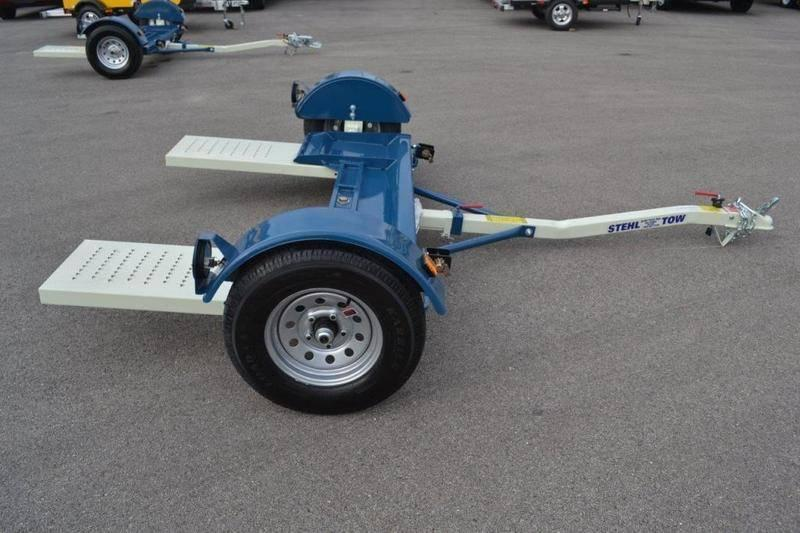 2020 Stehl Tow Dolly * ST80TD * STRAPS & RATCHETS