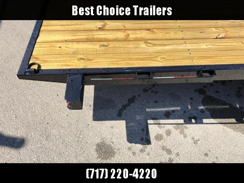 "2020 Sure Trac 7x18' Manual Tilt Car Trailer 7000# GVW * DIAMOND PLATE FENDERS * 5"" TUBE TONGE/FRAME * SEALED WIRING HARNESS * 7K SET BACK JACK * STAKE POCKETS/D-RINGS/RUBRAIL * REMOVABLE FENDER * UNDER FRAME BRIDGE"