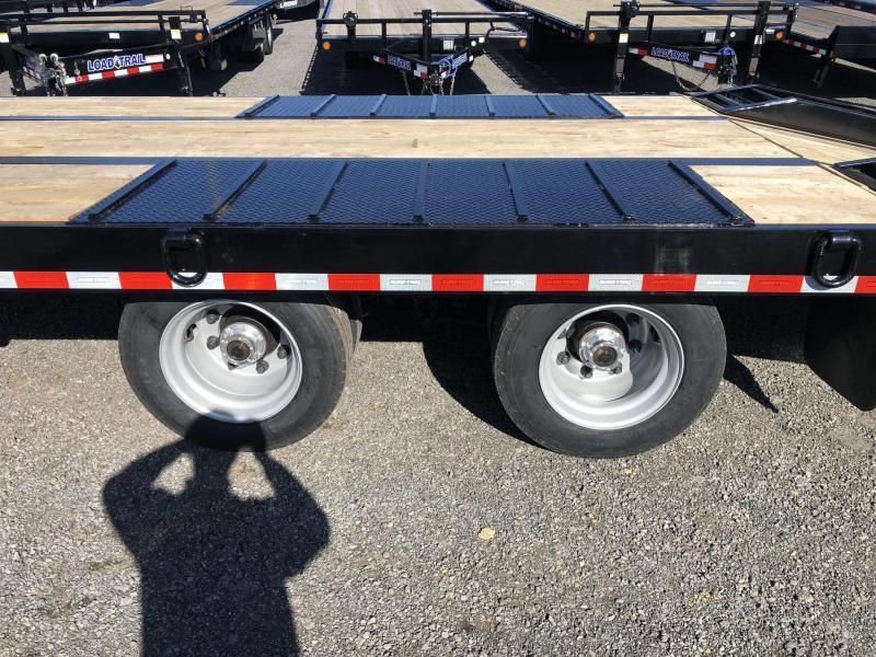 2020 Sure Trac  102x22+5' Air Brake Beavertail Deckover Trailer 49000# GVW * ST102225ABDO2A-B-490 * AIR RAMPS 30x80