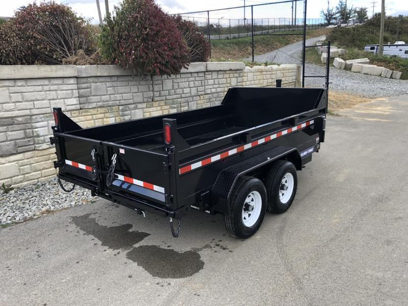 2020 Sure-Trac 6x12' Dump Trailer 9900# GVW * TELESCOPIC HOIST UPGRADE * ADJUSTABLE COUPLER