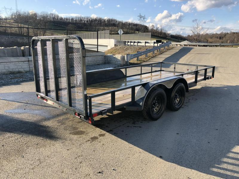 2019 X-On 77x14' Utility Landscape Trailer 7000# GVW * CHARCOAL * CLEARANCE