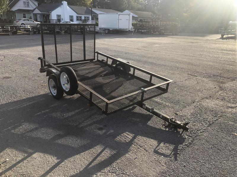 USED 2009 Carry On 5x8' Utility Landscape Trailer 2990# GVW * SPARE TIRE