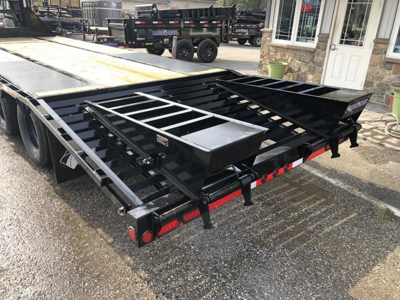 2019 Load Trail 102x25' Gooseneck Beavertail Deckover Flatbed 25990# Trailer * GP0225122 * 12000# AXLES * HDSS Suspension * Dexter's