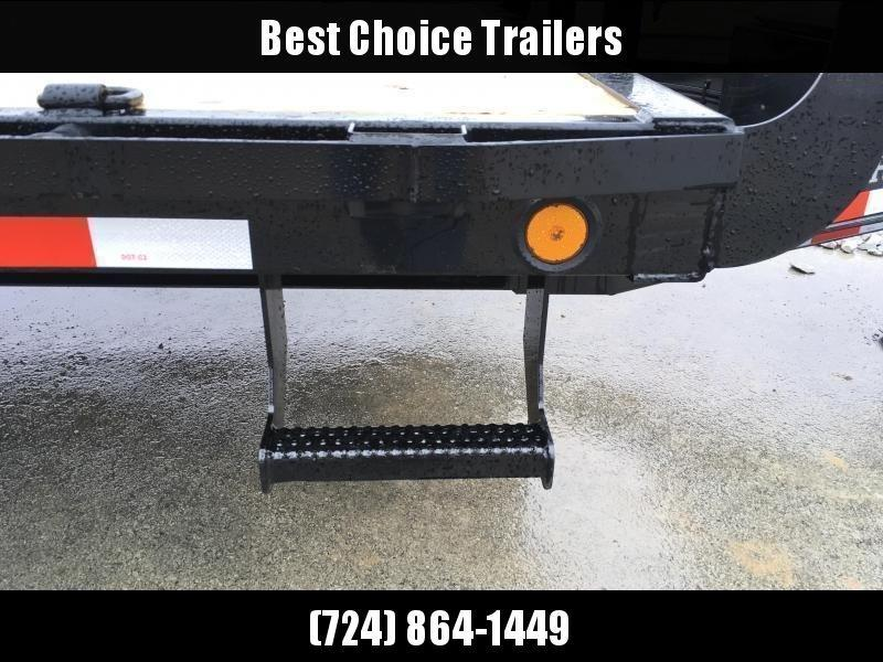 "2020 Ironbull 102""x24' Deckover Power Tilt Trailer 14000# GVW * SCISSOR HOIST * HYDRAULIC JACK * WINCH PLATE"