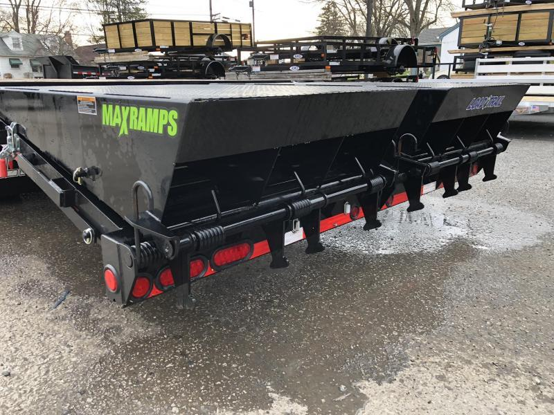 2020 Load Trail 102x40' HOTSHOT Gooseneck Beavertail Deckover Flatbed 25990# Trailer * GH0240122 * AIR RIDE * LIFT AXLE * EOH Disc Brakes * MAX Ramps * 2-25K JACKS * Under frame bridge * Torque Tube * Dexter 12K Axles