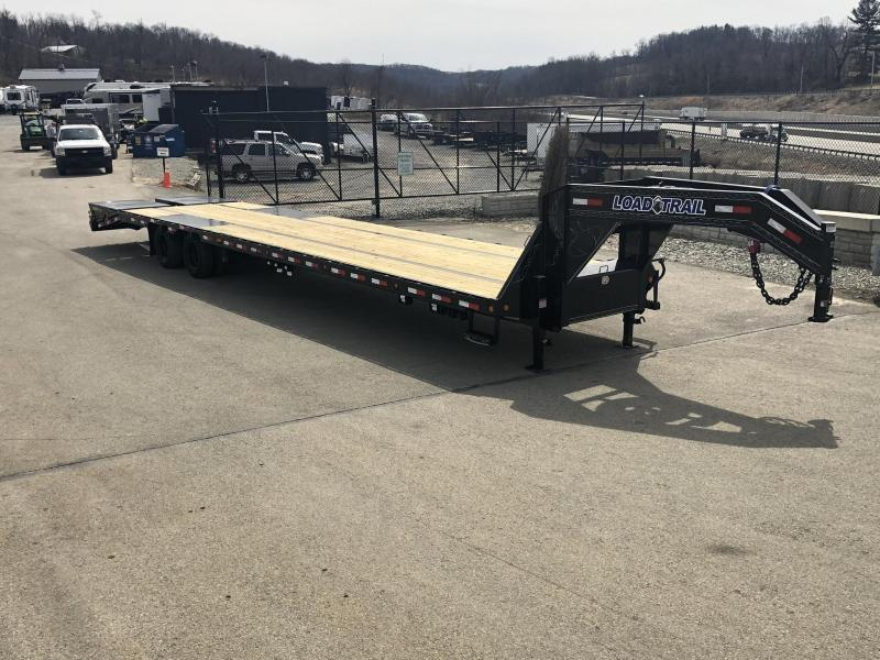 2019 Load Trail 102x25' Gooseneck Beavertail Deckover Flatbed 22000# Trailer * GP0225102 * MAX Ramps * HDSS Suspension * Dexter Axles * Winch plate