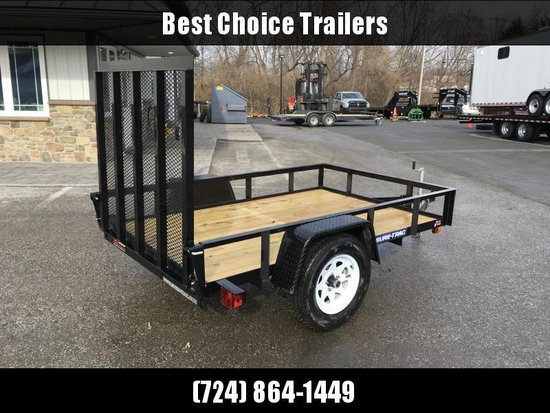 2020 Sure-Trac 5x8' Angle Iron Utility Trailer 2990# GVW