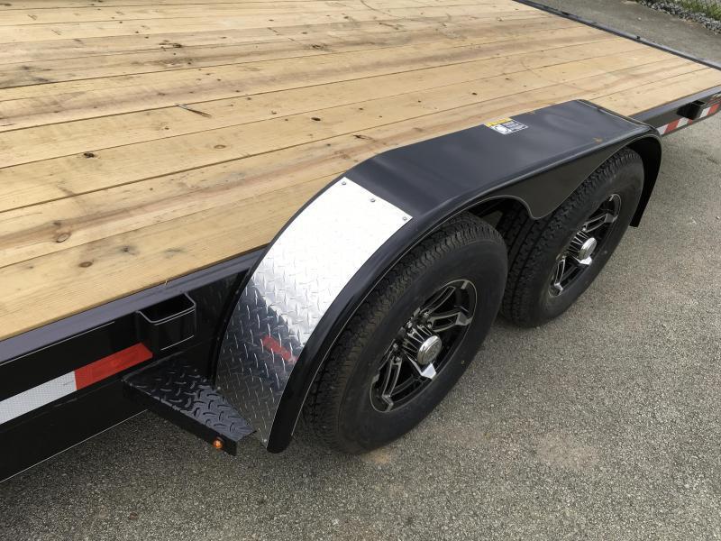 "2019 H&H 7x20' EX Power Tilt Car Hauler Trailer 9990# GVW * POWER UNIT * DUAL TOOLBOXES * 6"" FRAME * CLEARANCE"
