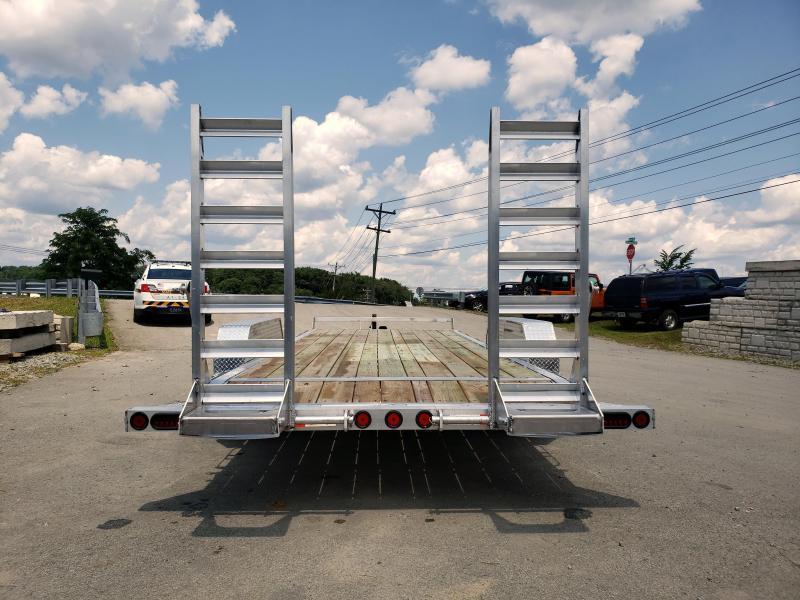 2019 Ironbull 7x20' Aluminum Equipment Trailer 14000# GVW * ALUMINUM FRAME * STAND UP RAMPS * ALUMINUM WHEELS * LOTS OF TIE DOWNS