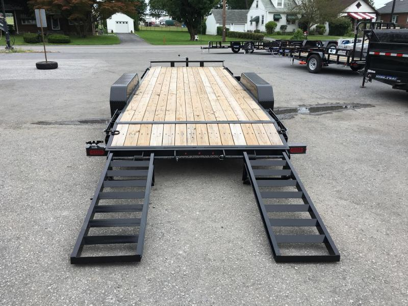 NEW Sure-Trac Implement 7'x16' Equipment Trailer 9900# GVW - ST8116IT-B-100 * CLEARANCE