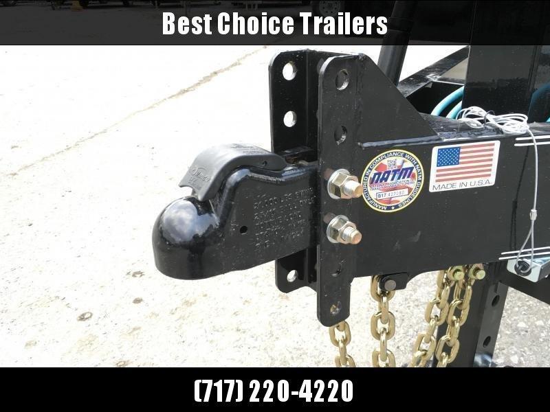 2020 Lamar 7x20' Equipment Trailer 14000# GVW - FULL WIDTH RAMPS * CHARCOAL