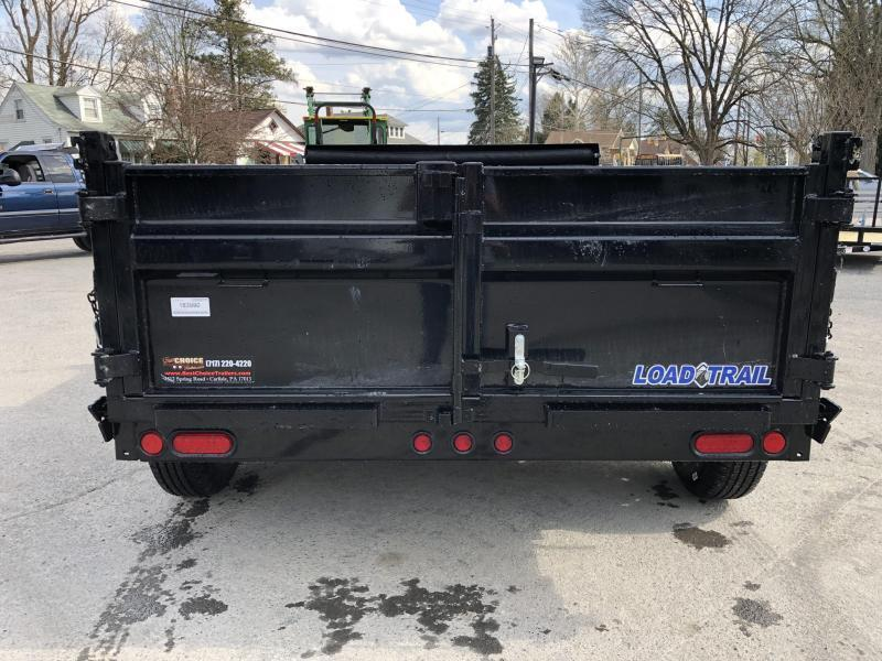 "2020 Load Trail 6x10' Dump Trailer 9990# GVW * DT7210052 * 2' SIDES * 3-WAY GATE * I-BEAM FRAME * TARP KIT * SCISSOR HOIST * 16"" RUBBER * 6"" TUBE BED FRAME * 110V CHARGER * DEXTER'S * 2-3-2 * POWDER PRIMER"