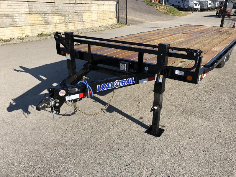2020 Load Trail 102x20' Deckover Flatbed Trailer * DK0220072 * SLIDE IN RAMPS * ZINC PRIMER * 2-3-2 WARRANTY