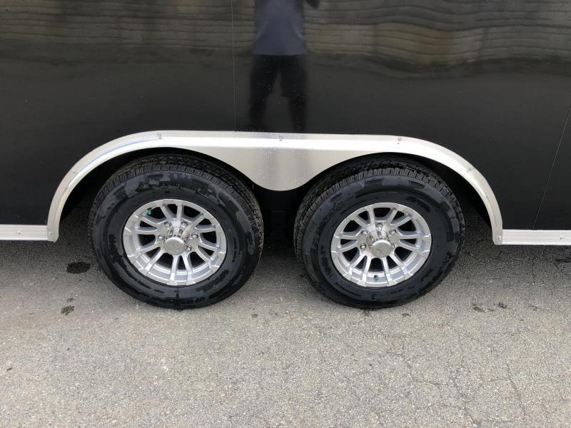 "2020 Sure-Trac 8.5x20' Enclosed Car Trailer 9900# GVW * BLACK * 7000# DROP LEG JACK * SCREWLESS * 48"" DOOR * ALUMINUM WHEELS"