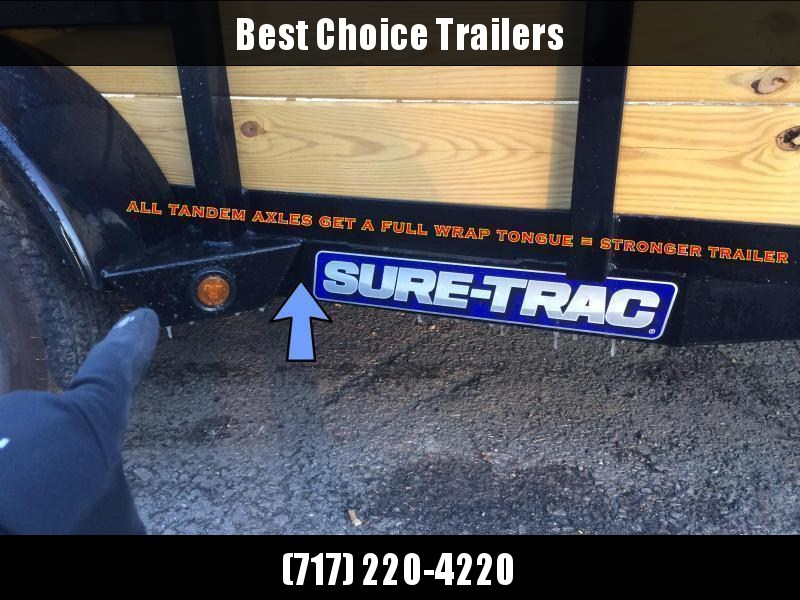 2019 Sure-Trac 5x8' Tube Top Utility Landscape Trailer 2990# GVW