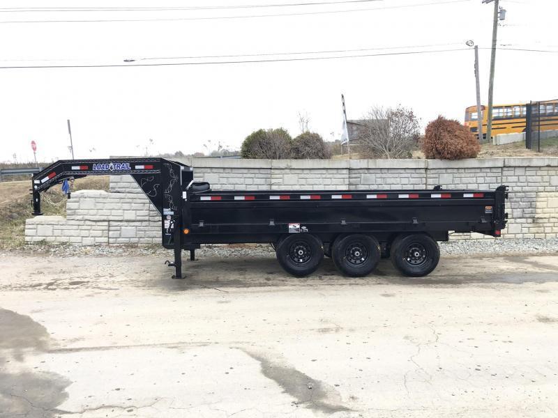 2019 Load Trail  Dump Trailer * GZ9616073 * I-BEAM FRAME * TARP * SCISSOR * FOLD DOWN SIDES * 3-WAY GATE