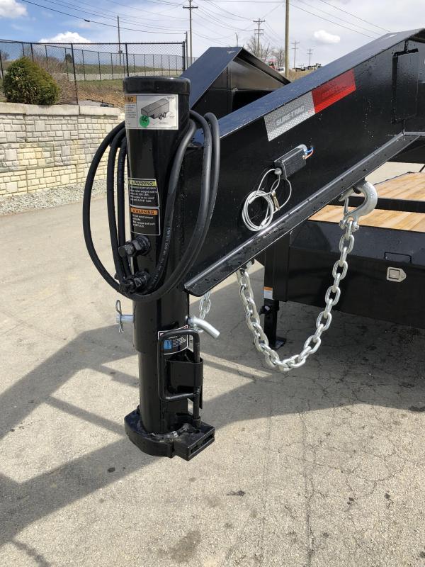 2019 Sure Trac Gooseneck Beavertail Flatbed Deckover Trailer * ST102204SDDO-GN-150 * 4