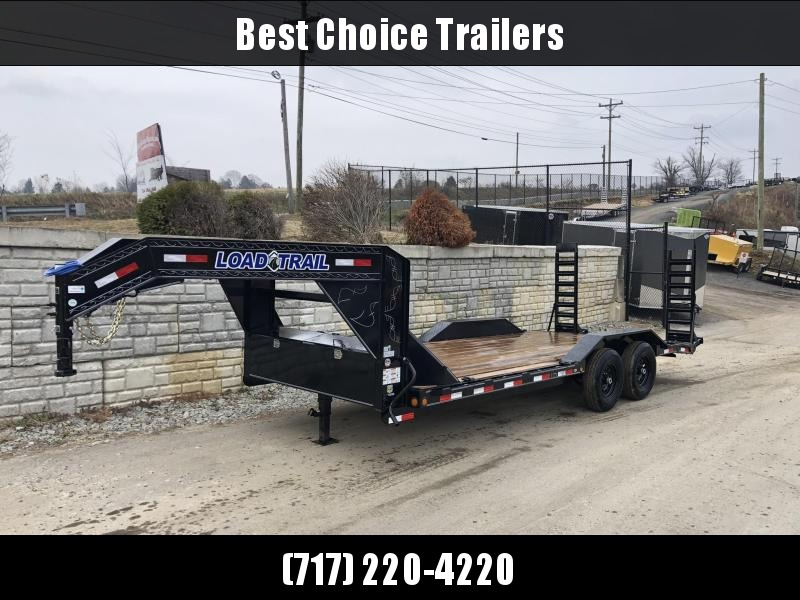 """2020 Load Trail 102x20' Gooseneck Equipment Trailer 14000# GVW * 102"""" DECK * DRIVE OVER FENDERS * FULL TOOLBOX * WINCH PLATE * RUBRAIL * STAND UP RAMPS * 2-3-2 WARRANTY * PRIMER * DEXTER'S"""