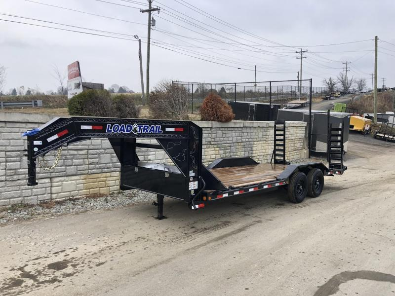 "2020 Load Trail 102x20' Gooseneck Equipment Trailer 14000# * 102"" DECK * DRIVE OVER FENDERS * FULL TOOLBOX * WINCH PLATE * RUBRAIL * STAND UP RAMPS"