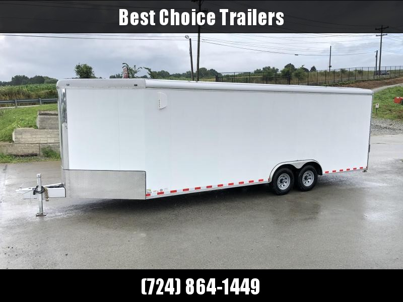 NEW Wells Cargo EW2425W-V Commercial Enclosed Cargo Trailer 14000# GVW * LOADED MODEL * COMMERCIAL CONTRACTOR/LANDSCAPER TRAILER * CLEARANCE