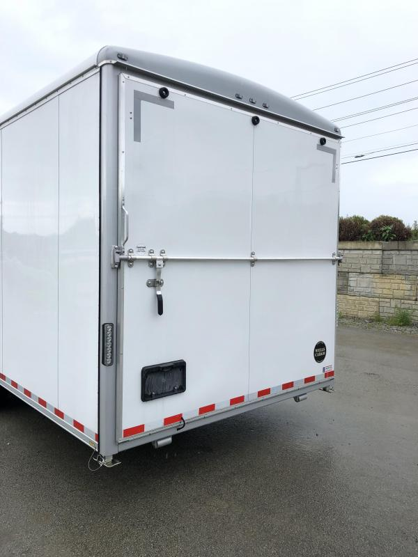 NEW Wells Cargo 8.5x24' Wagon Series Commercial Enclosed Cargo Trailer 14000# GVW * LOADED MODEL * COMMERCIAL CONTRACTOR/LANDSCAPER TRAILER * CLEARANCE