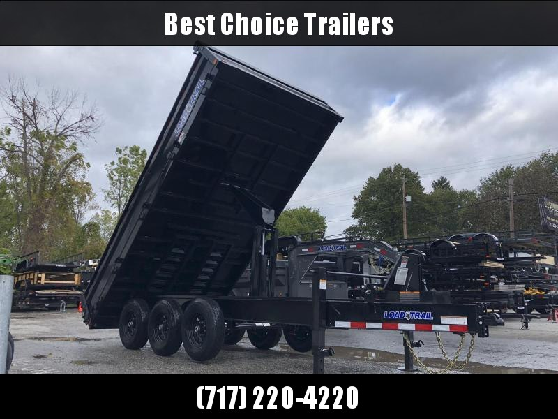 2019 Load Trail  Dump Trailer * DZ9616073 * I-BEAM FRAME * TARP * SCISSOR * FOLD DOWN SIDES * 3-WAY GATE