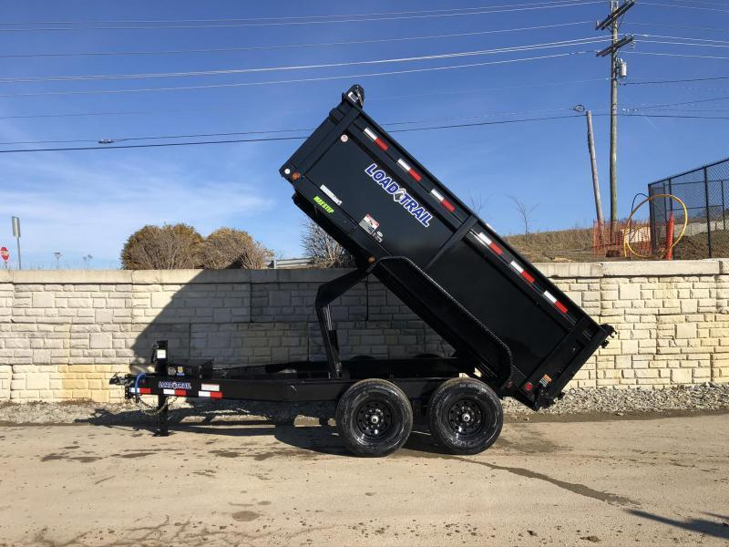 "2020 Load Trail 6x12' Dump Trailer 14000# * 3' HIGH SIDES * I-BEAM FRAME * 3-WAY GATE * TARP KIT * SCISSOR HOIST * 10GA 2PC SIDES & FLOOR * 6"" BED FRAME * DEXTER'S * 2-3-2 * PRIMER"