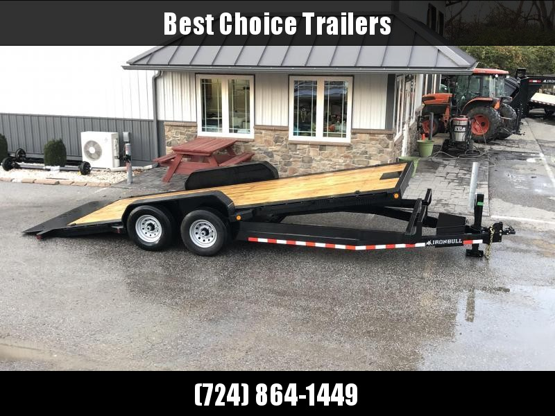 2019 Ironbull 7x20' POWER Tilt Equipment Trailer 14000# GVW * POWER TILT * 12K JACK * WINCH PLATE * TORSION