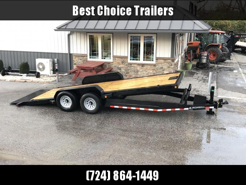 2019 Ironbull 7x20' POWER Tilt Equipment Trailer 14000# GVW * POWER TILT * 12K JACK * WINCH PLATE * TORSION * CLEARANCE