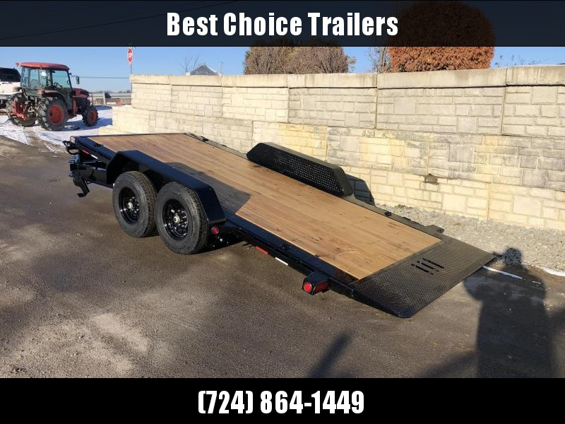 "2020 Load Trail 7x16' Gravity Tilt Equipment Trailer 14000# GVW * 8"" I-BEAM MONOFRAME * DEXTER TORSION AXLES * GRAVITY TILT W/ STOP VALVE * TOOL TRAY * REMOVABLE FENDERS * 2-3-2 WARRANTY * POWDER PRIMER * 12K JACK * ADJ CAST COUPLER * CLEARANCE"