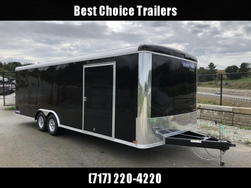 2019 Sure-Trac 8.5x24' Enclosed Car Trailer 9900# GVW - STRCH10224TA-100 * BLACK