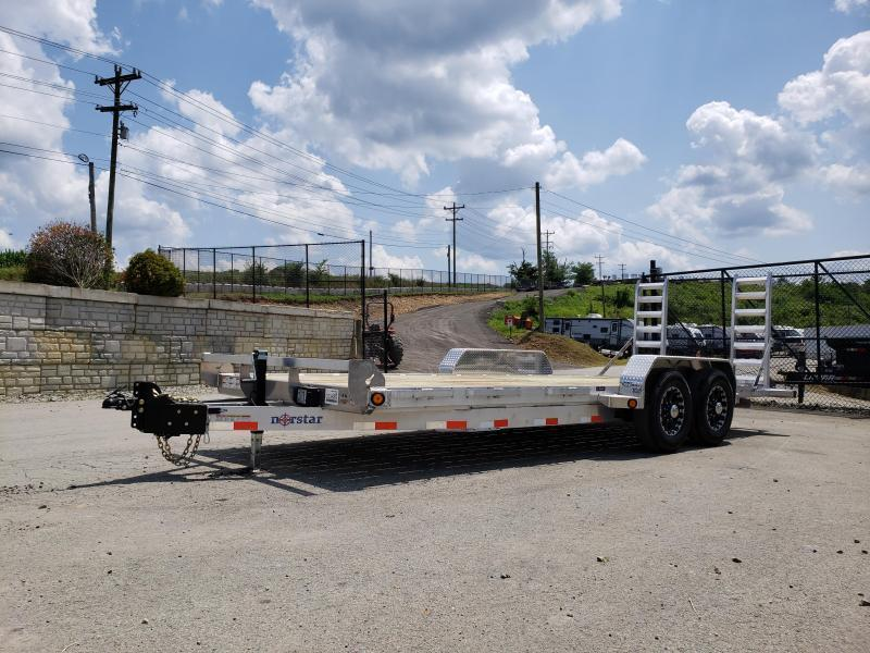 2020 Ironbull 7X20' Aluminum Equipment Trailer 14000# GVW * ALUMINUM FRAME * STAND UP RAMPS * ALUMINUM WHEELS * LOTS OF TIE DOWNS * CLEARANCE
