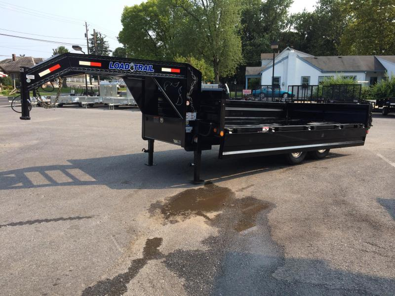 2020 Load Trail  Dump Trailer * GZ9616072 * I-BEAM FRAME * TARP * SCISSOR * FOLD DOWN SIDES * 3-WAY GATE