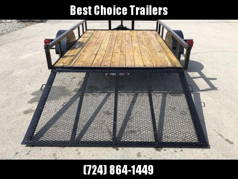 "2020 AMO 78x10' Utility Landscape Trailer 2990# GVW * 4' GATE * TOOLESS GATE REMOVAL * 3500# AXLE * 15"" RADIAL TIRES"