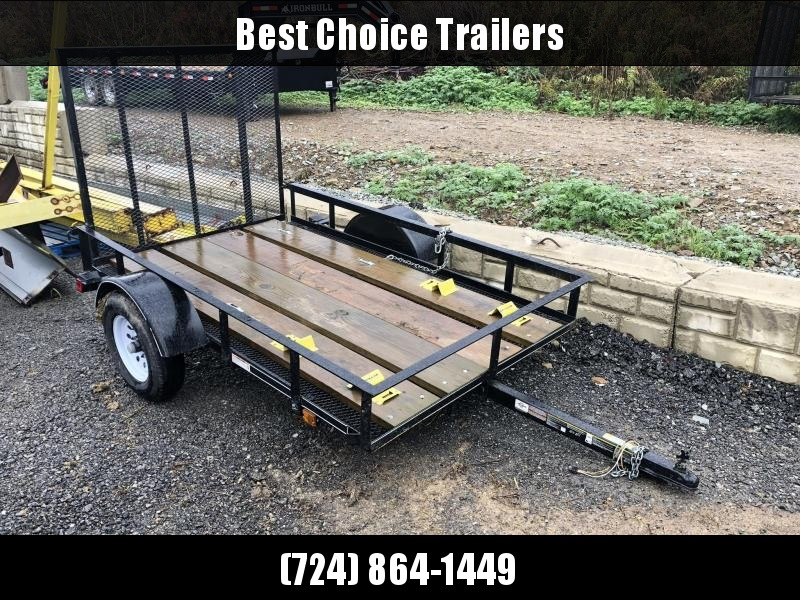 USED 2018 Carry-On 5x8' Utility Landscape Trailer 2200# GVW