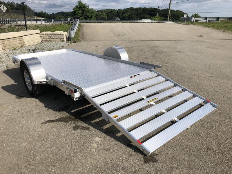 2020 H&H 6.5x12' LSA Aluminum Utility Landscape Trailer 2990# GVW * EXTRUDED FLOOR