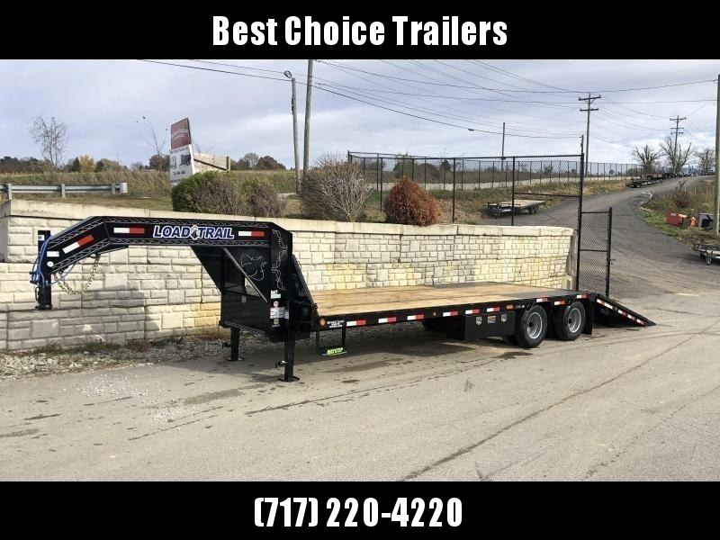 2020 Load Trail 102x30' Gooseneck Hydraulic Dovetail Deckover Trailer 22000# GVW * DUAL HYDRAULIC JACKS * DEXTER AXLES * HYDRAULIC DOVETAIL * HDSS SUSPENSION * FRONT AND 2 SIDE TOOLBOXES * WIRELESS REMOTE * PRIMER * CLEARANCE
