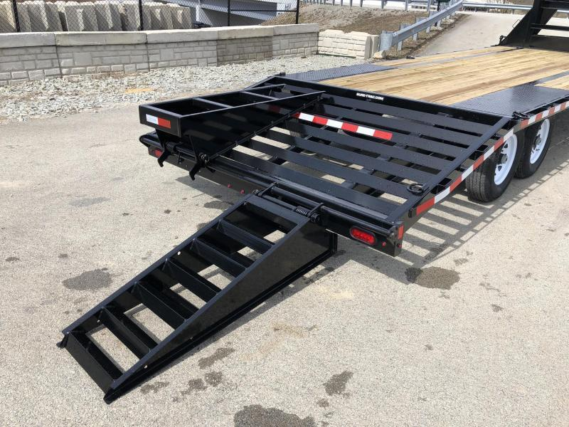 2019 Sure-Trac 102x20+5' Gooseneck Beavertail Deckover Trailer 15000# GVW * PIERCED FRAME * CLEARANCE