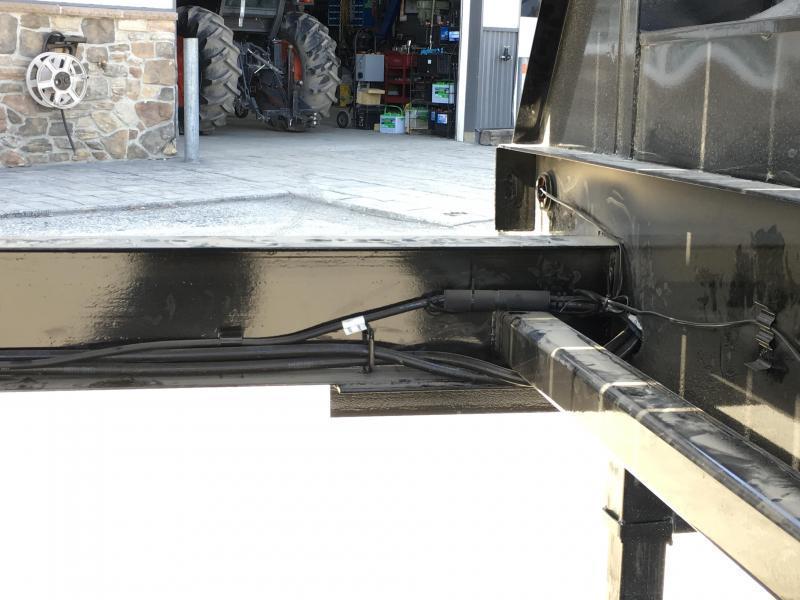 """2020 Ironbull 102""""x24' Gooseneck Deckover Power Tilt 14000# GVW * SCISSOR HOIST * WINCH PLATE"""