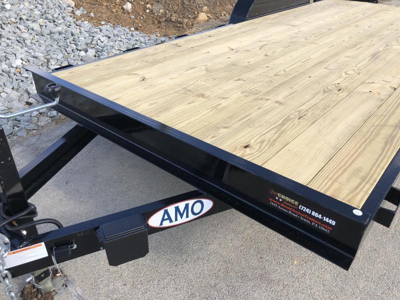 2020 AMO 7x18' Equipment Trailer 9990# GVW