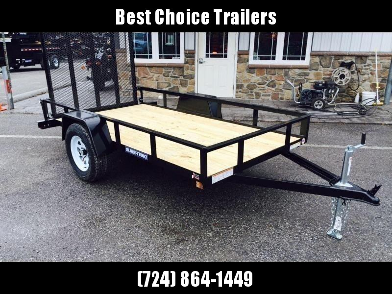 "2020 Sure-Trac 5x10' Utility Landscape Trailer 2990# GVW * 2X2"" TUBE GATE C/M + FOLD FLAT * TOOLESS GATE REMOVAL * CHANNEL TONGUE * REAR BOARD RETAINER * HD FENDERS * ZINC JACK * RADIAL TIRES * POWDERCOATED"