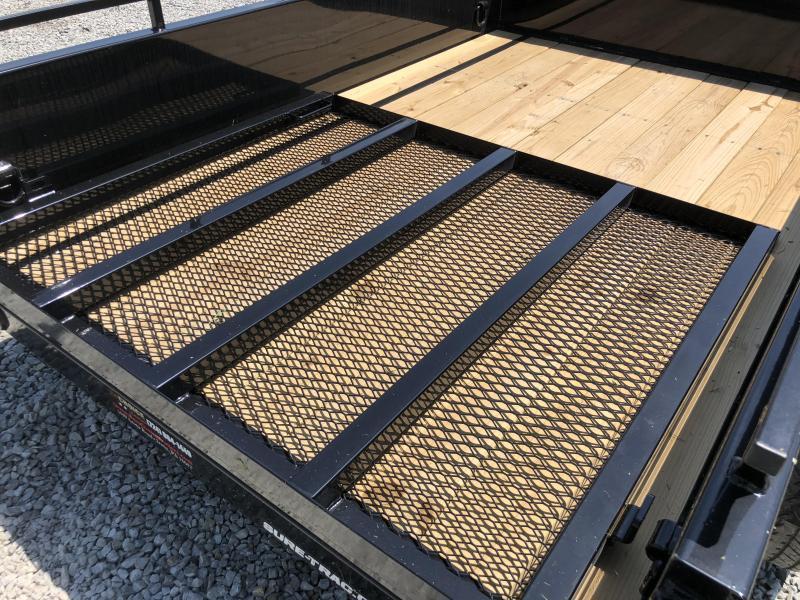 2019 Sure-Trac 5x8' Steel High Side Landscape Utility Trailer 2990# GVW * CLEARANCE