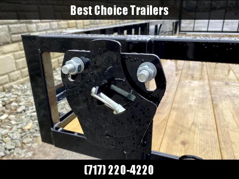 2020 Load Trail 7x16' Tube Top ATV Utility Landscape Trailer 7000# GVW * UE8316032-ATV * TUBE TOP * ATV RAMPS * DEXTER'S * 2-3-2 WARRANTY * SPARE MOUNT * CAST COUPLER * FOLD IN GATE * PRIMER