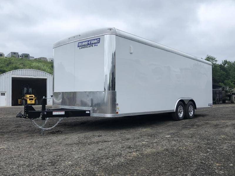 2019 Sure-Trac 8.5x24' STRLP Landscape Pro Package Trailer 9900# GVW