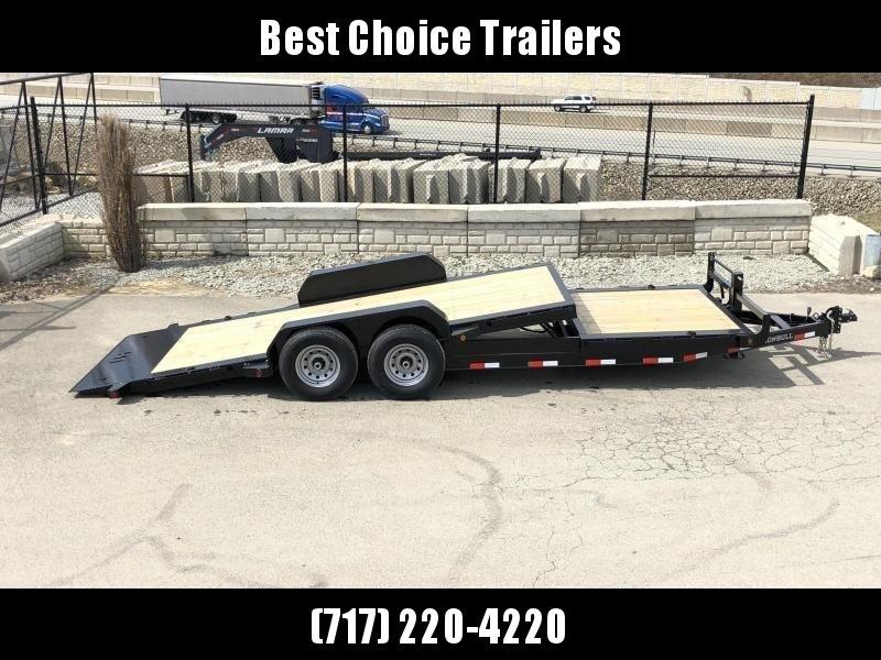 2019 Ironbull 7x16+2 Gravity Tilt Equipment Trailer 9990# TORSION * STOP VALVE * SUPER LOW LOAD ANGLE