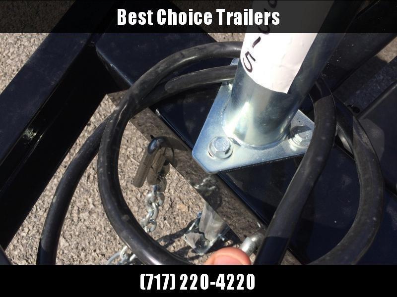 2020 Sure-Trac 6x12' Steel High Side Utility Trailer 2990# GVW