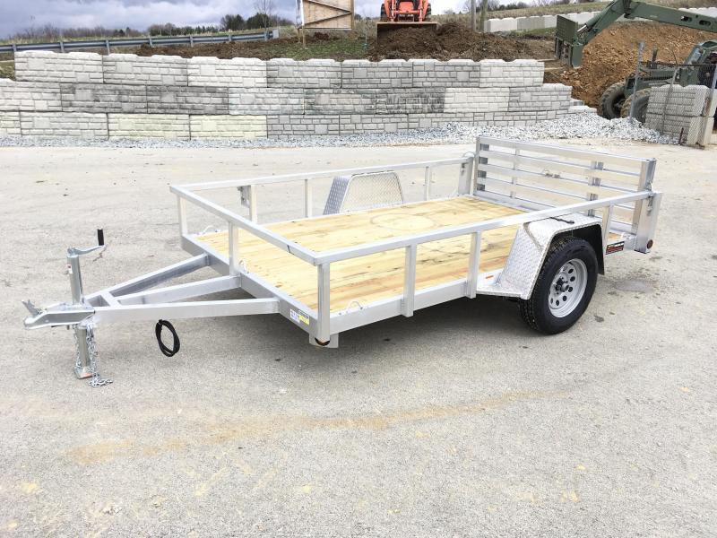 2020 QSA Deluxe 6x10' 2990# DELUXE Aluminum Landscape Utility Trailer